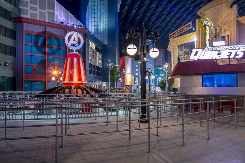IMG Theme Park marvel - IMG Worlds of Adventure 全球最大室内主题乐园