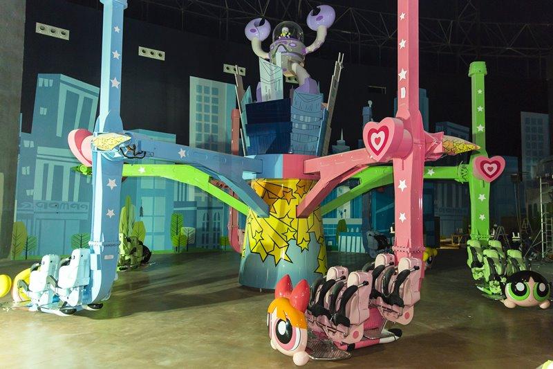 IMG Worlds Of Adventure Powerpuff Girls Ride - IMG Worlds of Adventure 全球最大室内主题乐园