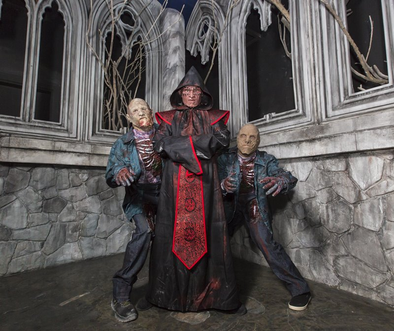IMG Worlds of Adventure Haunted Hotel 2 - IMG Worlds of Adventure 全球最大室内主题乐园