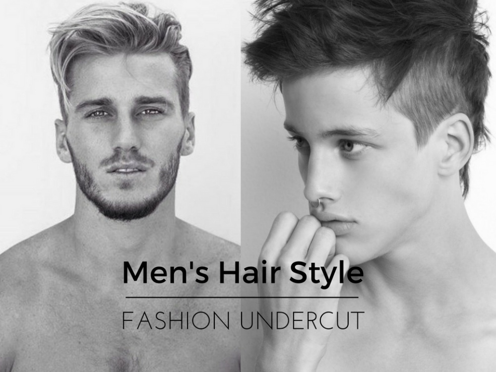 Mens Hair Style BIG - In Huge Trend Now: The High Flexibility Undercut
