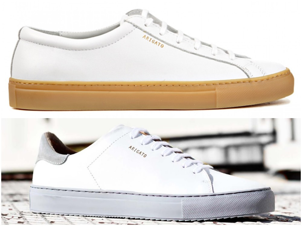 axel arigato 8 - To Create A Fashion Style, You Just Need A Pair Of White Shoes!