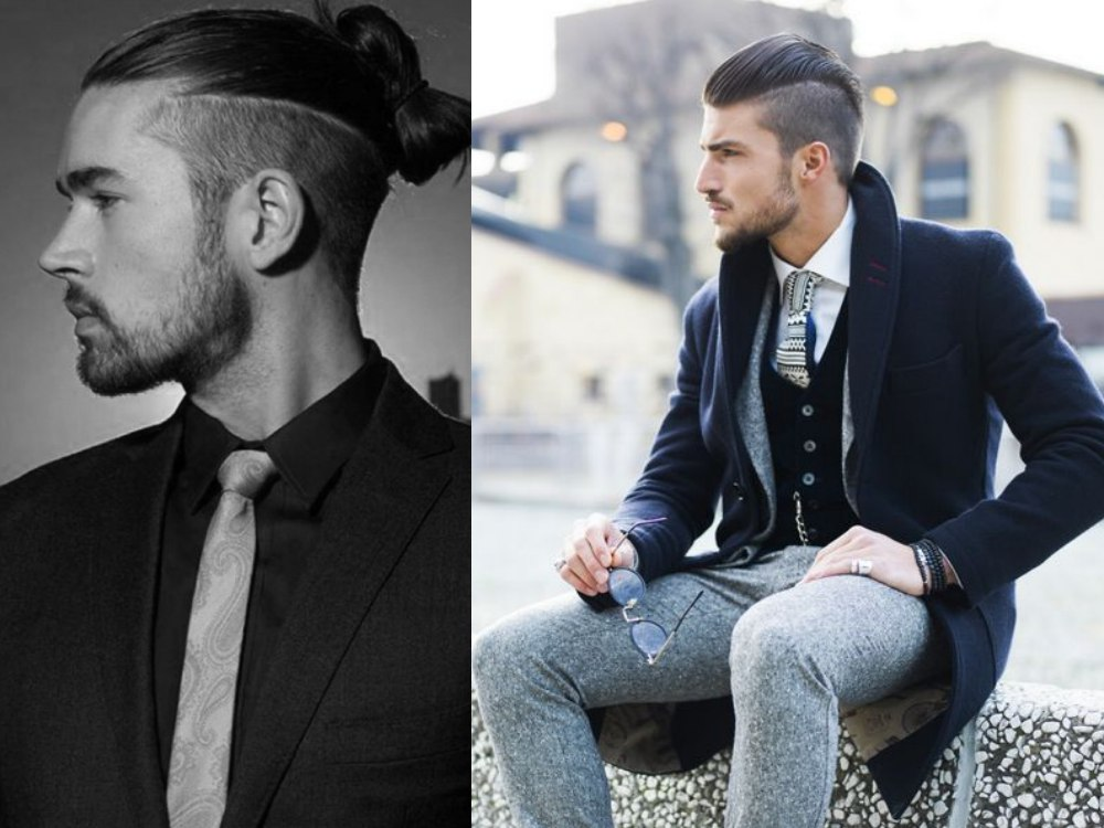 men hair style undercut high 5 - 潮流大势,可塑性高的Undercut!