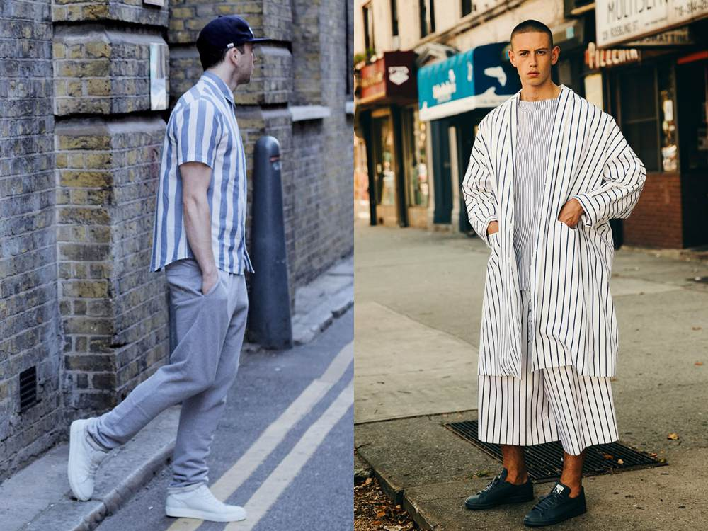 men style stripe fashion 1 - Fall/Winter Men's Style, The Stripe Fashion!