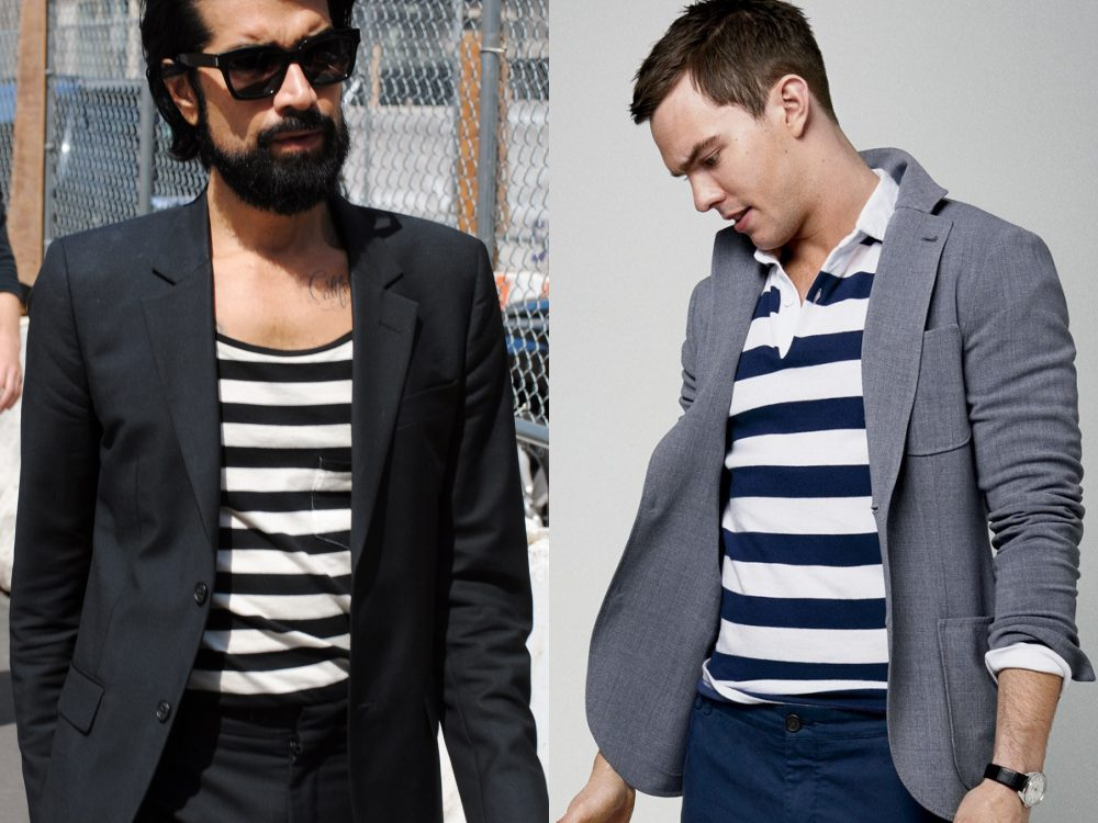 men style stripe fashion 15 - Fall/Winter Men's Style, The Stripe Fashion!