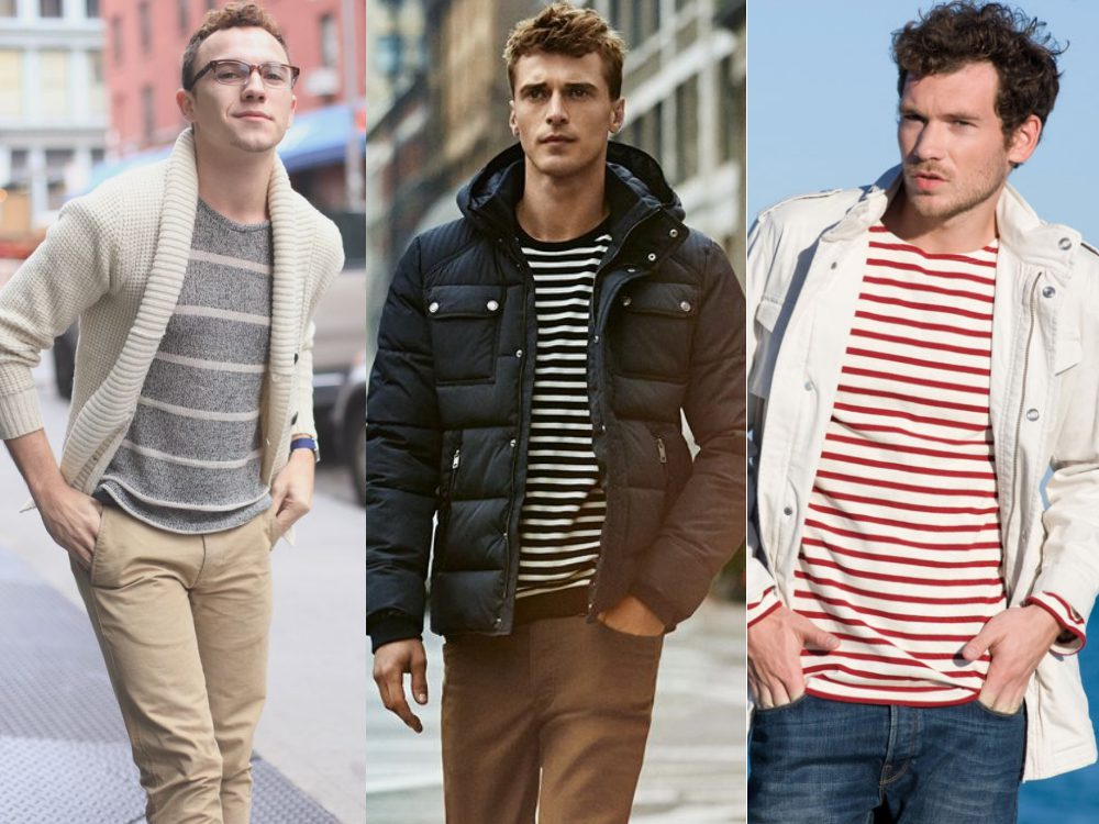 men style stripe fashion 17 - Fall/Winter Men's Style, The Stripe Fashion!