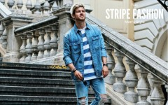 men style stripe fashion 240x150 - Fall/Winter Men's Style, The Stripe Fashion!