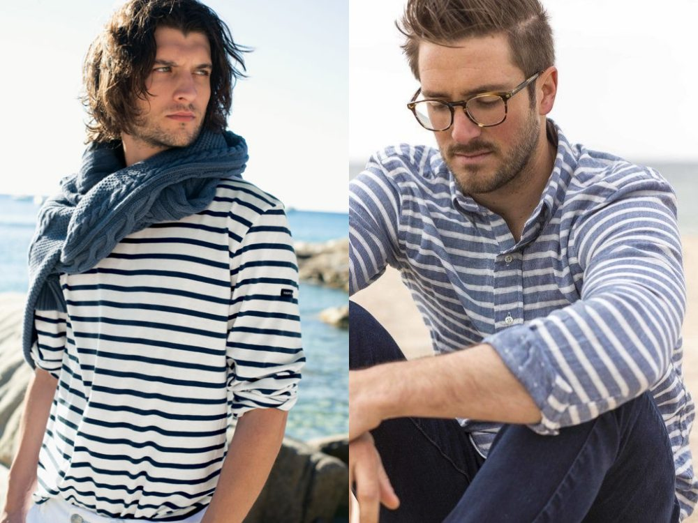 men style stripe fashion 4 - Fall/Winter Men's Style, The Stripe Fashion!