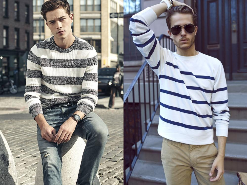 men style stripe fashion 5 - Fall/Winter Men's Style, The Stripe Fashion!