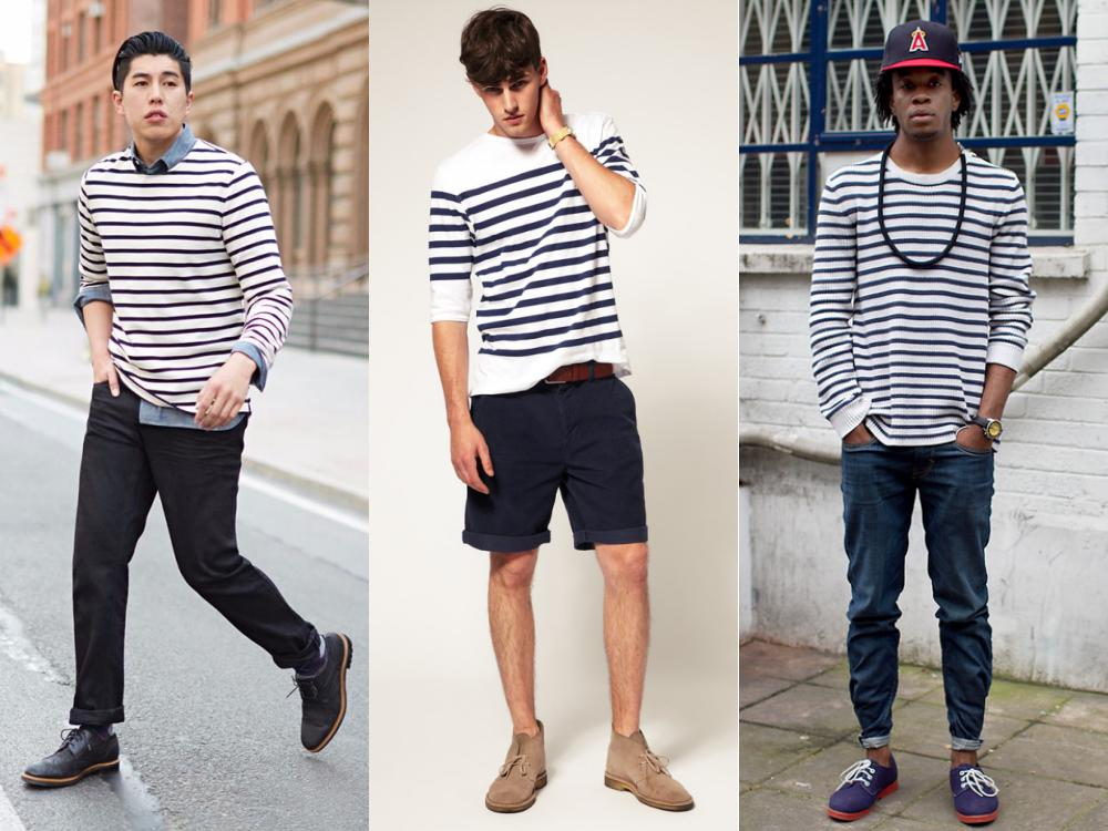 men style stripe fashion 6 - Fall/Winter Men's Style, The Stripe Fashion!