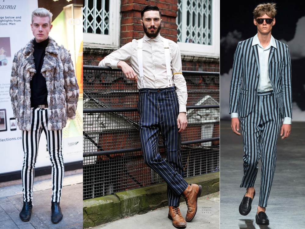 men style stripe fashion pants - Fall/Winter Men's Style, The Stripe Fashion!