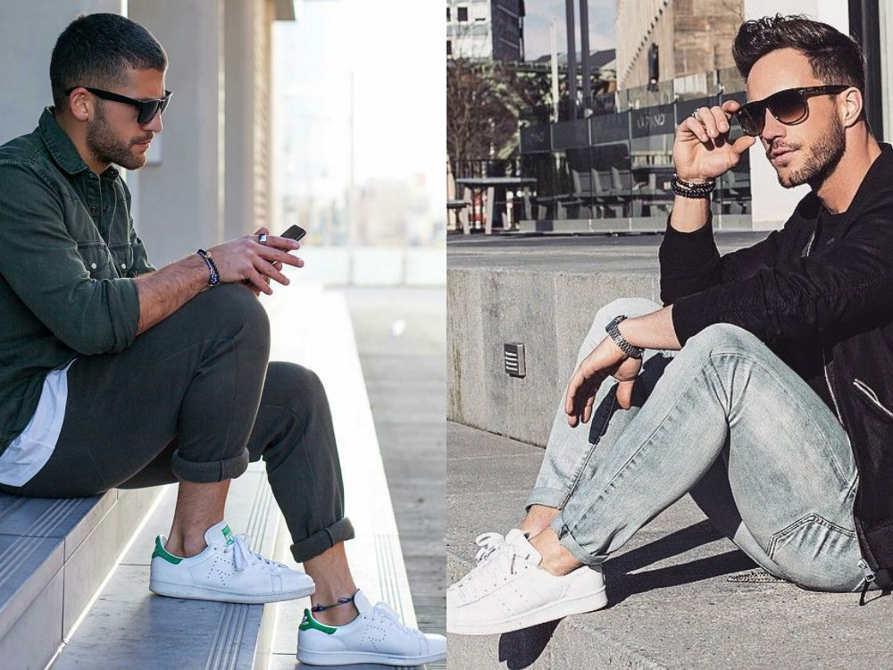 men style white sneaker 5 - To Create A Fashion Style, You Just Need A Pair Of White Shoes!
