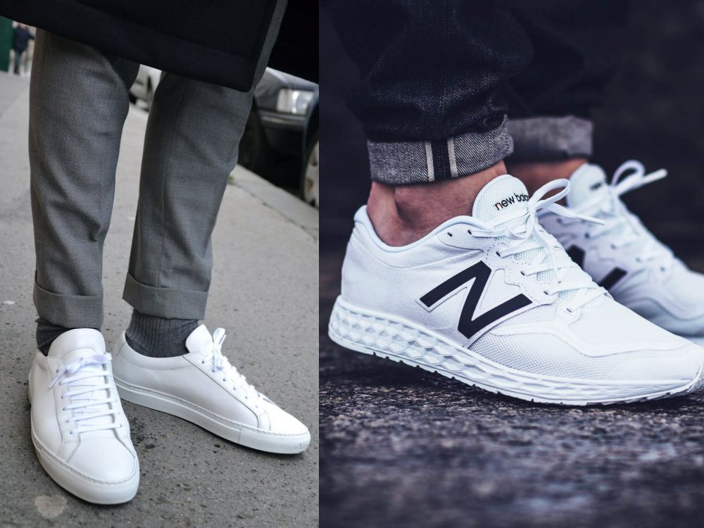 men style white sneaker 7 - To Create A Fashion Style, You Just Need A Pair Of White Shoes!
