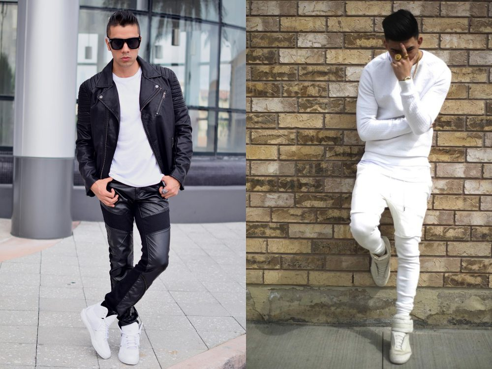 men style white sneaker ankle 3 - To Create A Fashion Style, You Just Need A Pair Of White Shoes!