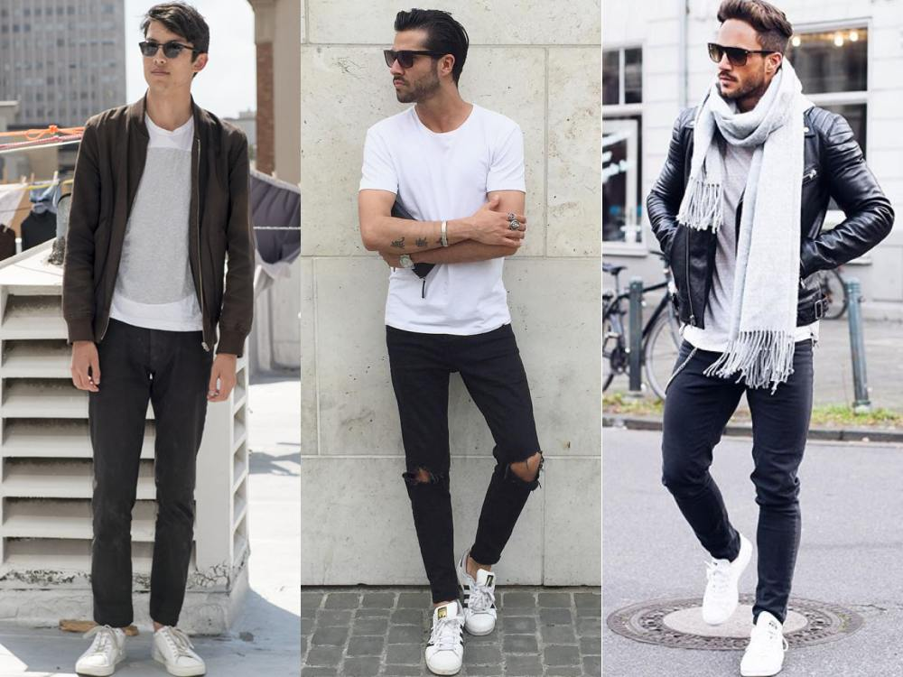 Create A Fashion Style You Just Need A Pair Of White Shoes