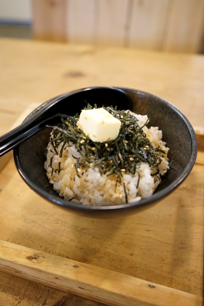 midsummer night seaweed butter rice 2 - Midsummer Night: A Place to Warm Your Heart and Titillate Your Taste Buds after Dark