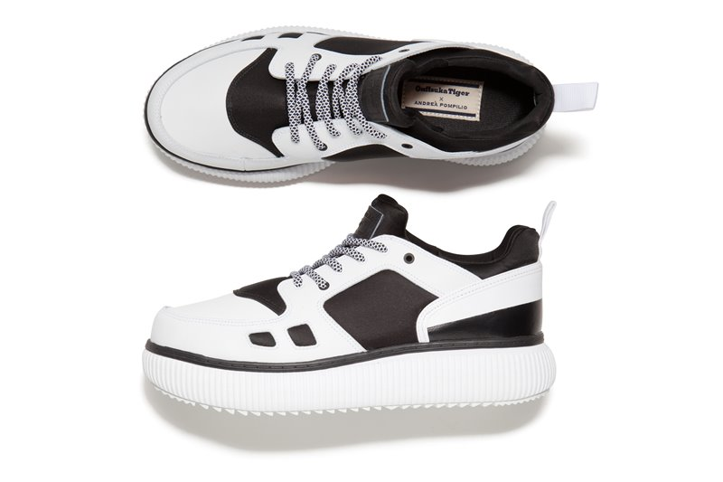 onitsuka tiger andrea pompillo dinghy white - Onitsuka Tiger X Andrea Pompilio Together To Create High-End Sports Fashion
