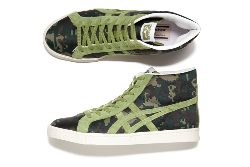 onitsuka tiger andrea pompillo fabre rb green - Onitsuka Tiger X Andrea Pompilio Together To Create High-End Sports Fashion
