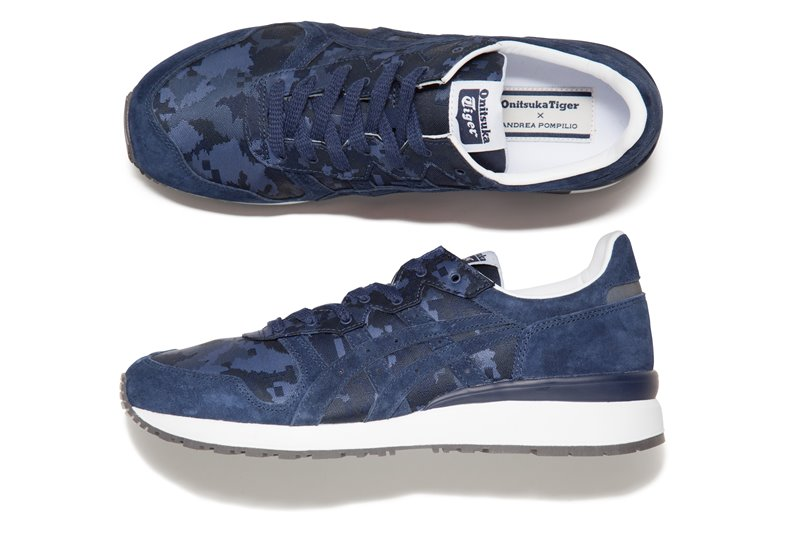 onitsuka tiger andrea pompillo tiger alliance - Onitsuka Tiger X Andrea Pompilio Together To Create High-End Sports Fashion
