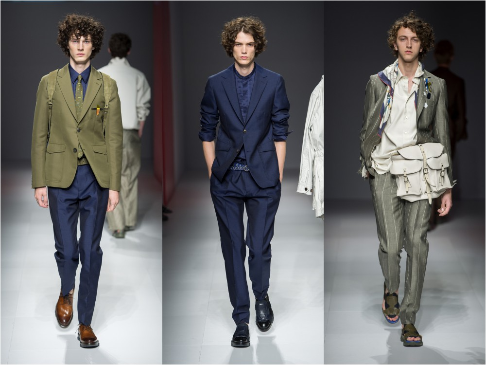 salvatore ferragamo mens spring summer 2017 suits - Salvatore Ferragamo 春夏'17男士系列 向往自由冒险的都会男子