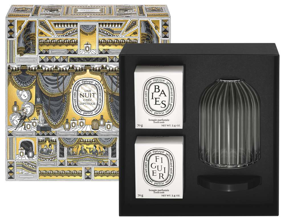 Candle holder – RM549 not including the candles - Diptyque 圣诞童话 为温暖夜点一烛火