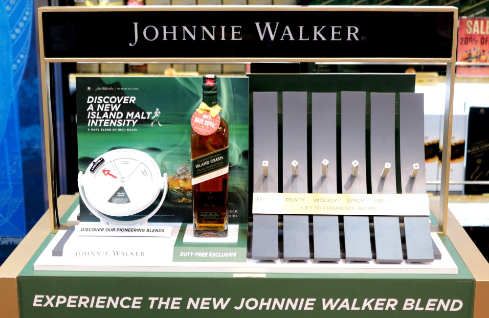 Johnnie Walker Island Green 1 - Johnnie Walker Island Green 苏格兰混合麦芽威士忌飘香至大马