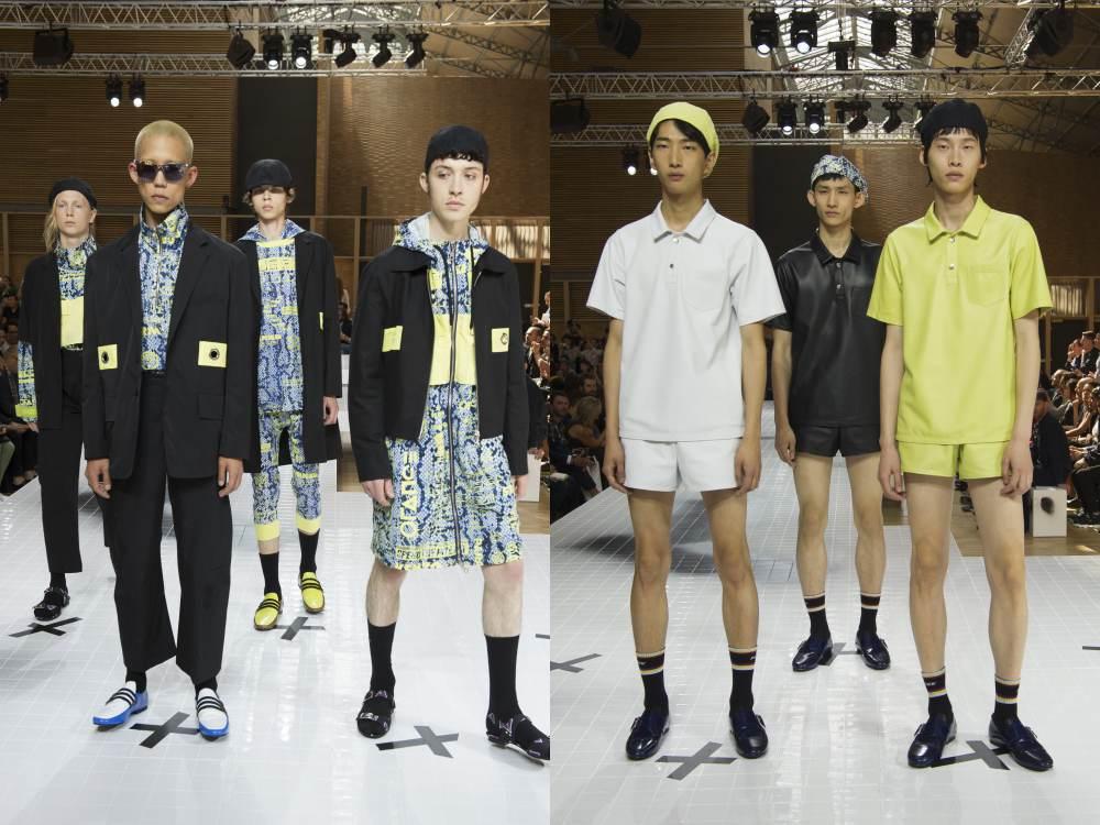 KENZO Homme SS17 3 - 俱乐部元素的时尚态度,Kenzo不受约束!