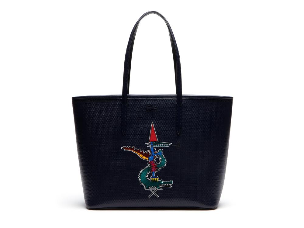 Lacoste Jean Paul Goude 2016 bag  - Jean-Paul Goude 为Lacoste小鳄鱼改换趣味造型!