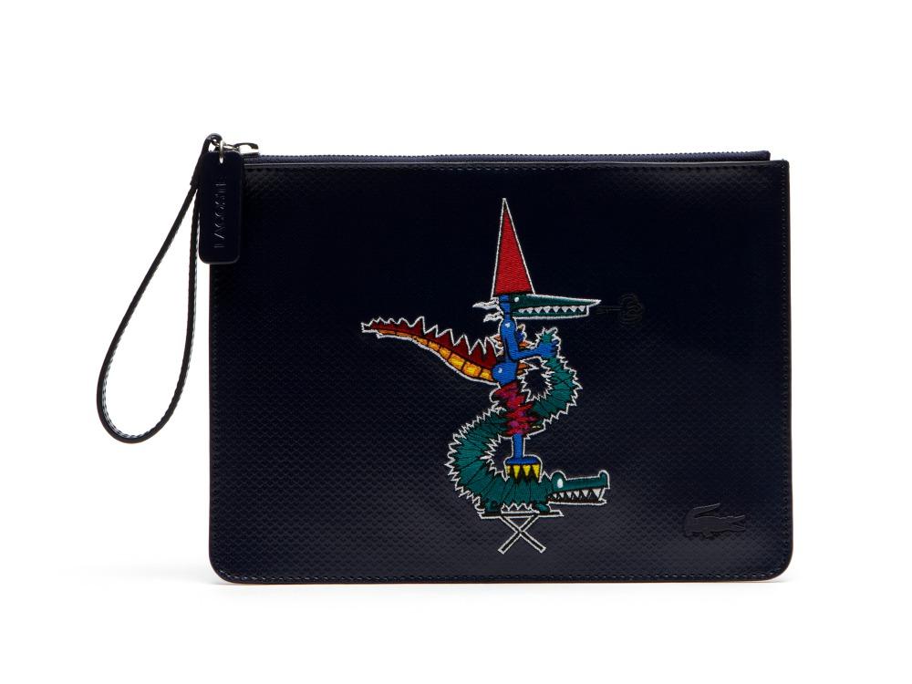 Lacoste Jean Paul Goude 2016 bag 2 - Jean-Paul Goude 为Lacoste小鳄鱼改换趣味造型!