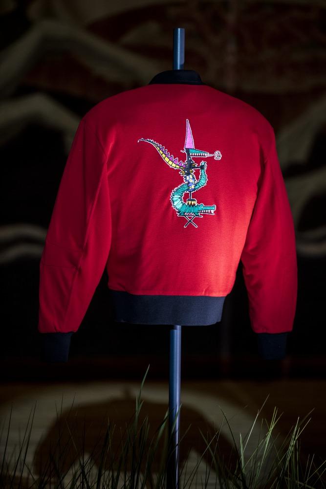 Lacoste Jean Paul Goude 2016 bomber jacket  - Jean-Paul Goude 为Lacoste小鳄鱼改换趣味造型!