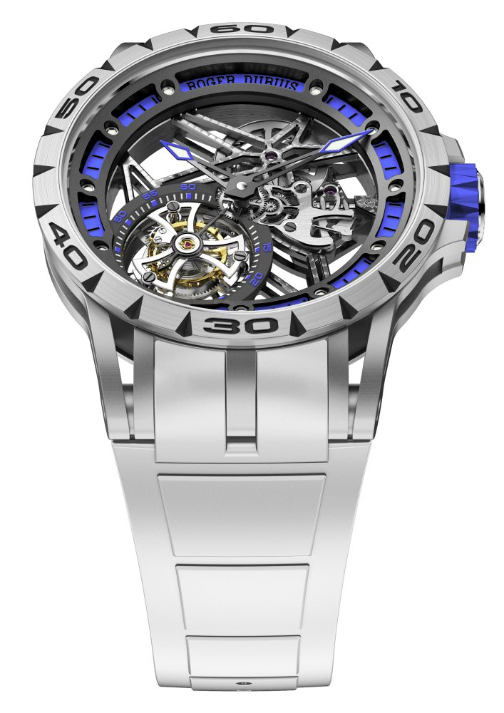 Roger Dubuis Excalibur Spider 2 - Roger Dubuis Excalibur Spider 镂空近看精密腕表机械