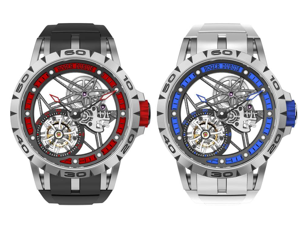 Roger Dubuis Excalibur Spider 4 - Roger Dubuis Excalibur Spider 镂空近看精密腕表机械