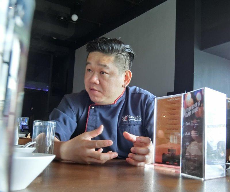 Ruyi Lyn chef James Ho - Ruyi&Lyn 创意料理,缠绕在舌尖上的美味