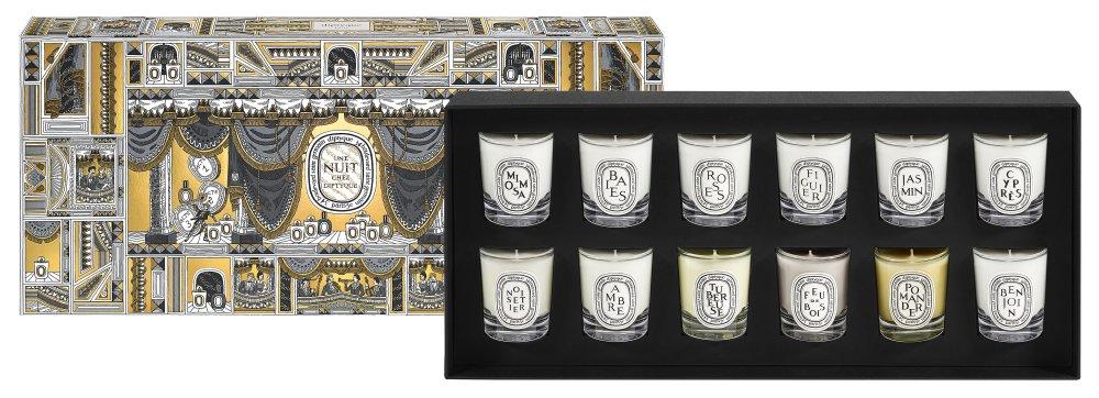 Set of 12 Mini Candles 35g – RM789 - Diptyque 圣诞童话 为温暖夜点一烛火