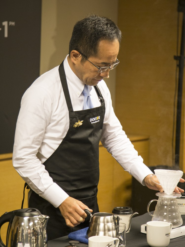 doutor coffee masahiro kanno 2 - Coffee Master Masahiro Kanno Shares the Aesthetic of the Coffee 3.0