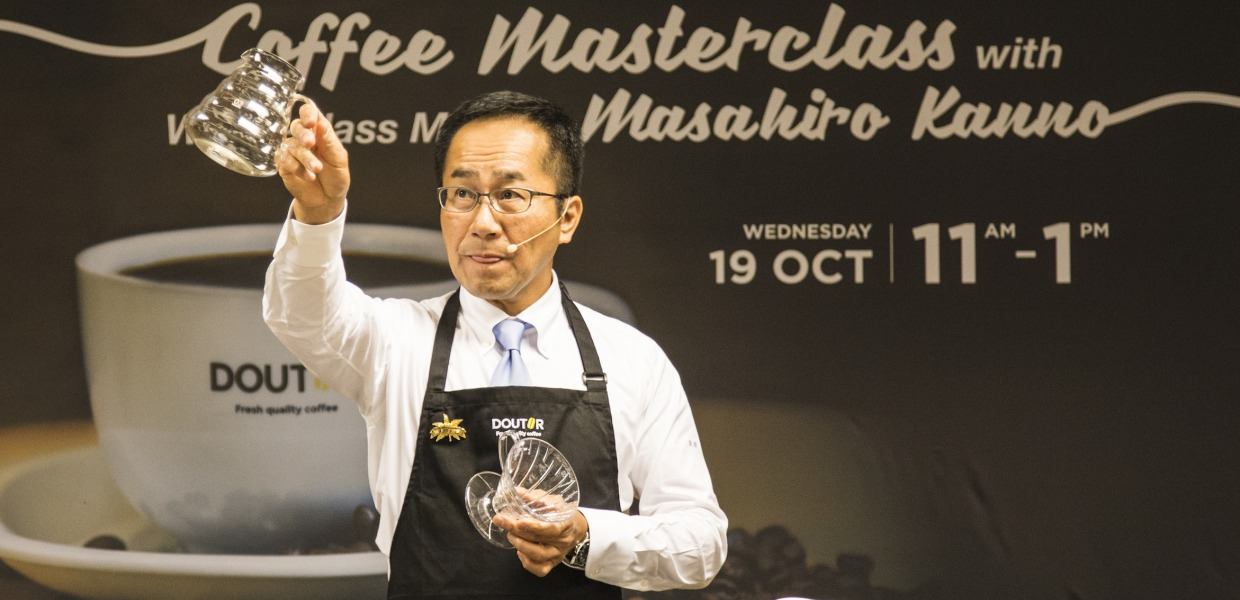 doutor coffee masterclass BIG - Coffee Master Masahiro Kanno Shares the Aesthetic of the Coffee 3.0