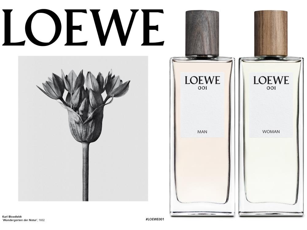 loewe 001 perfume  - Loewe's New 001 Fragrance