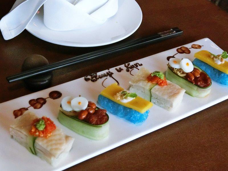 ruyi and lyn ruyis sushi - Ruyi&Lyn 创意料理,缠绕在舌尖上的美味