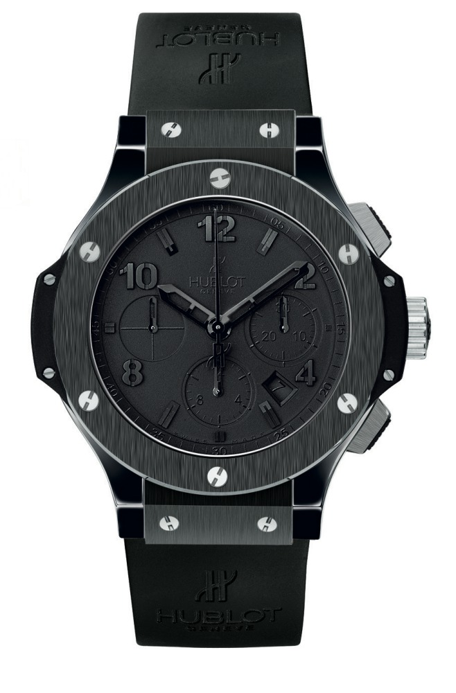 2006 Hublot All Black Big Bang - Hublot 黑表系列10年进阶蜕变!