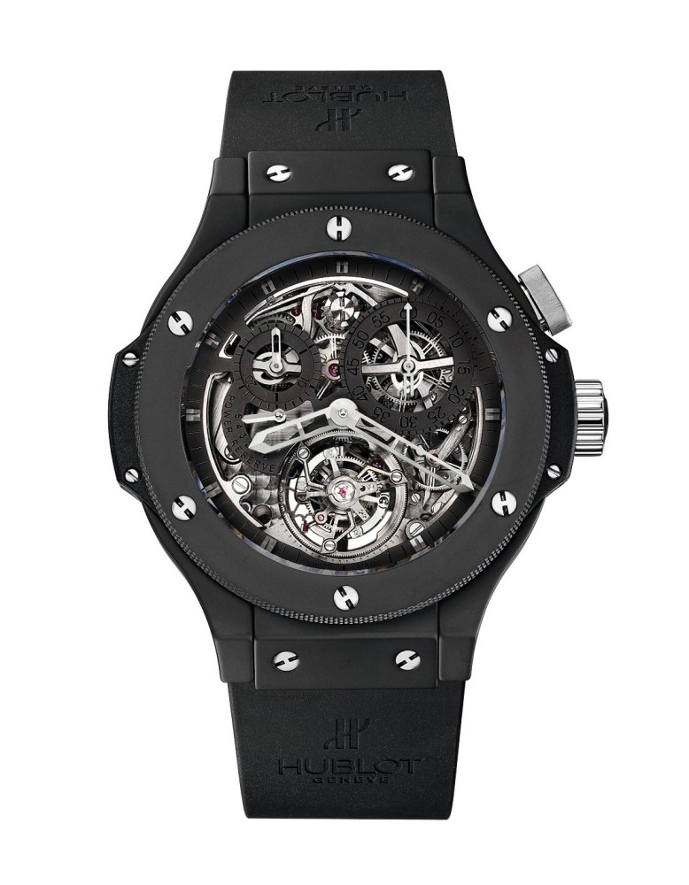 2007 Hublot All Black Tourbillon Bigger Big Bang - Hublot 黑表系列10年进阶蜕变!