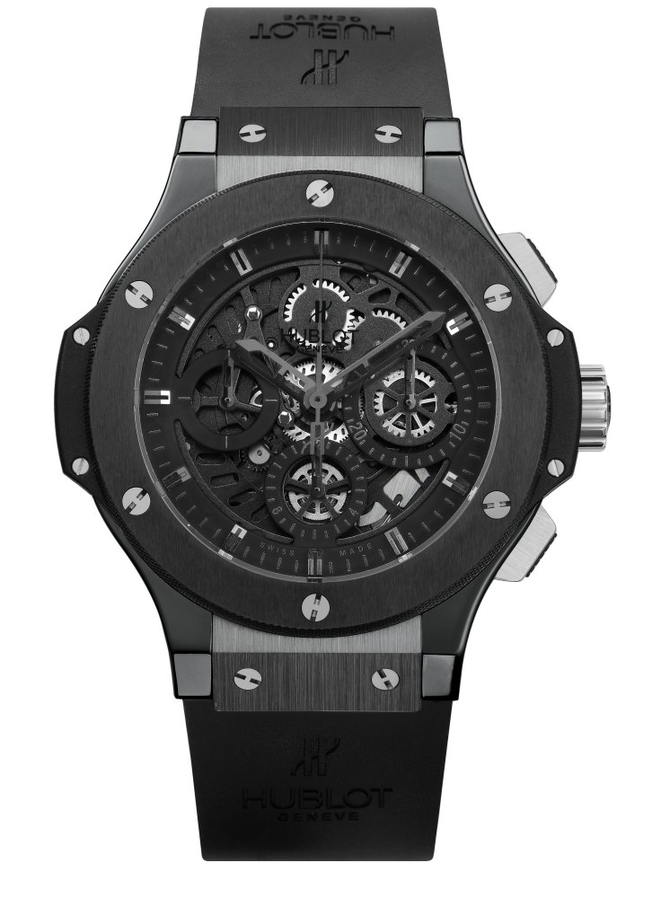 2008 Hublot All Black Big Bang Aero Bang - Hublot 黑表系列10年进阶蜕变!