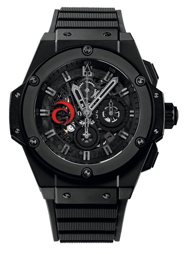 2010 Hublot All Black King Power Aero Black Alinghi - Hublot 黑表系列10年进阶蜕变!