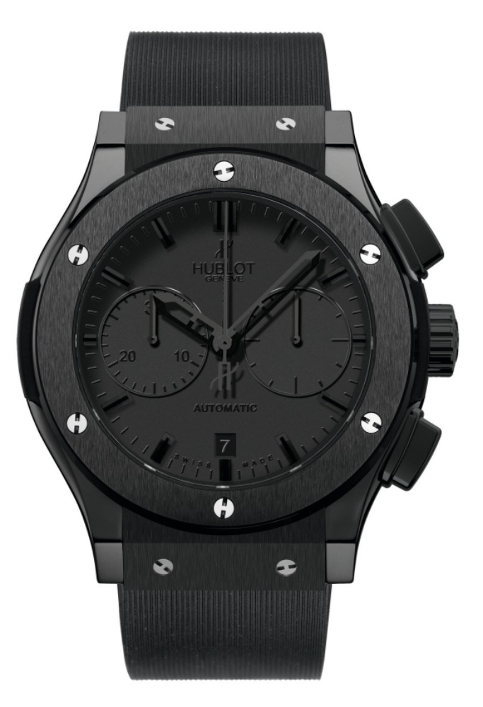 2011 Hublot All Black Classic Fusion Chronograph - Hublot 黑表系列10年进阶蜕变!