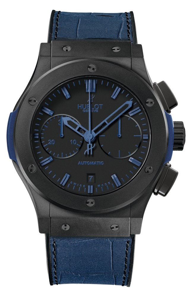 2012 Hublot All Black Classic Fusion All Black Blue - Hublot 黑表系列10年进阶蜕变!