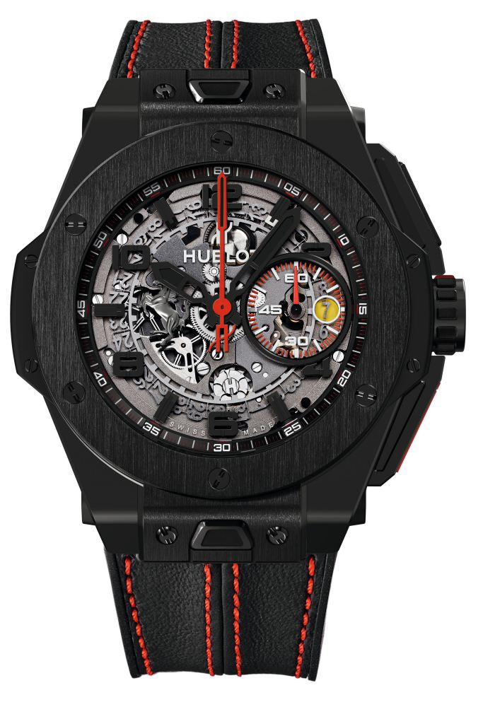2013 Hublot All Black Big Bang Unico Ferrari All Black - Hublot 黑表系列10年进阶蜕变!