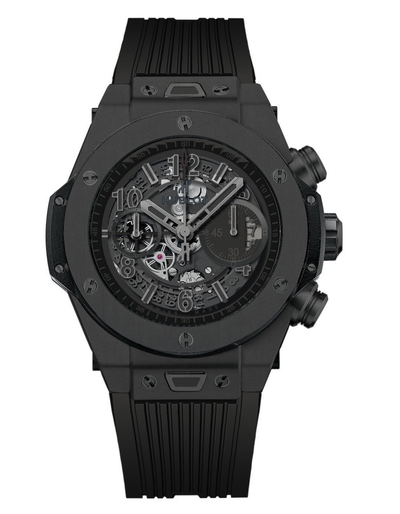 2014 Hublot All Black Big Bang Unico Ceramic  - Hublot 黑表系列10年进阶蜕变!