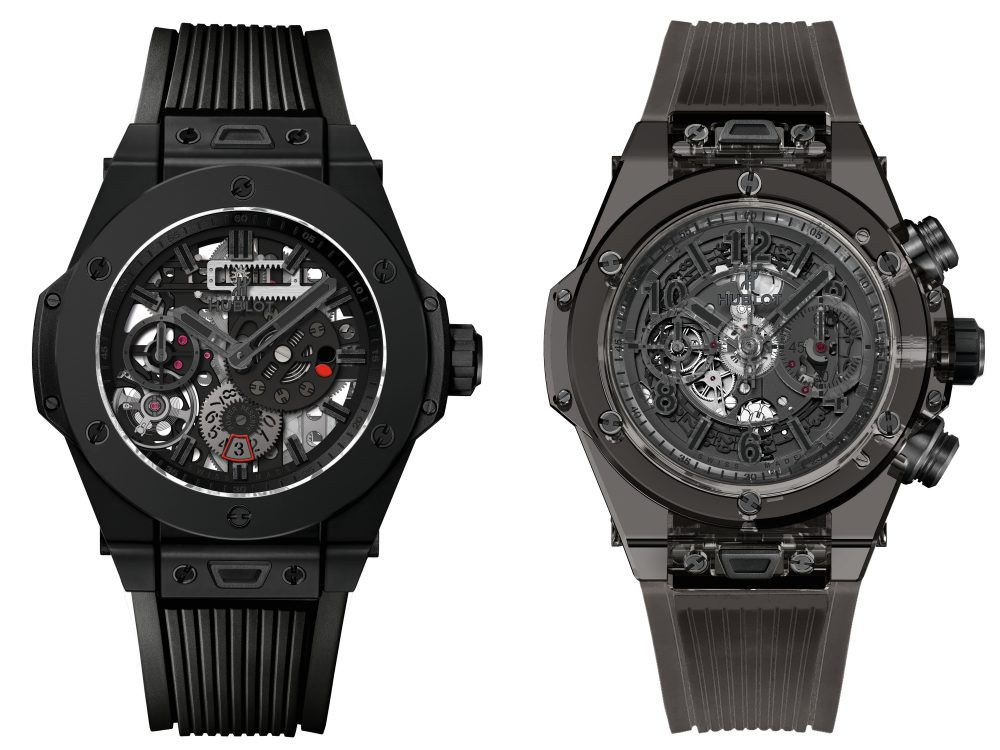 2016 Hublot All Black BigBang MECA 10 BigBang Unico Sapphire All Black - Hublot 黑表系列10年进阶蜕变!