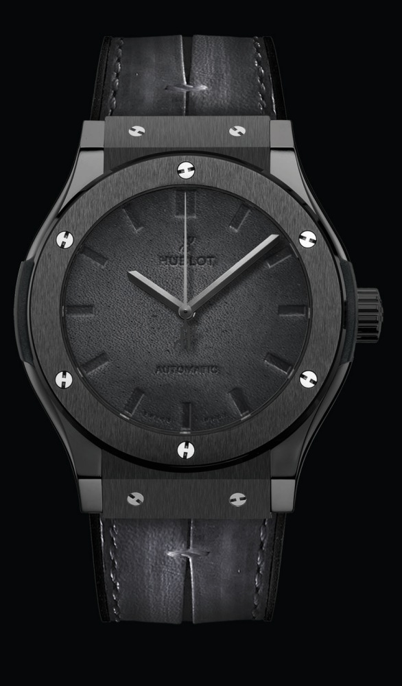2016 Hublot all black 511.CM .0500.VR .BER16 SD HR B - Hublot 黑表系列10年进阶蜕变!