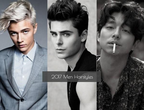 2017 Men hairtsyles Cover 600x460 - 2017 Men Hairstyles 型男潮发 5 大趋势