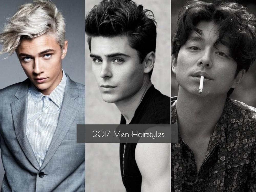 2017 Men hairtsyles Cover - 2017 Men Hairstyles 型男潮发 5 大趋势
