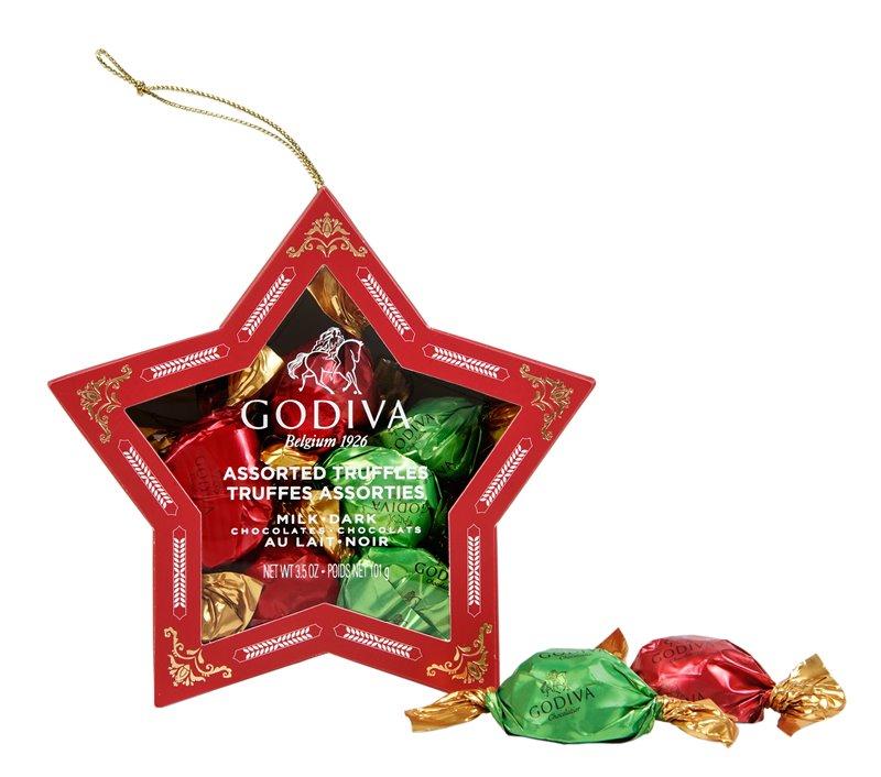Holiday Chocolate Truffe Star Box 10pcs. - 在巧克力的国度中,度过美妙圣诞佳节